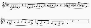 Bodas de fígaro violín
